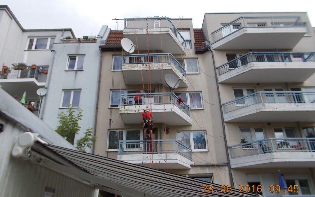 Balkonaußensanierung